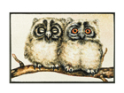 Matto TWO OWLS 50x75 cm A5-108624