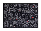 Matto CITY OF LOVE 50x75 cm A5-111421