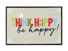 Matto THINK HAPPY 40x60 cm A5-115791