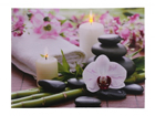 LED taulu CANDLES & ORCHIDS 30x40 ED-118511
