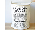Pyykkikori LAUNDRY RULES GB-120643