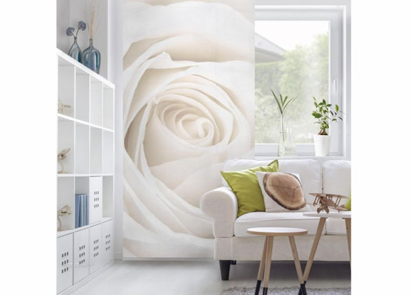 Paneeliverho PRETTY WHITE ROSE 250x120 cm ED-141211