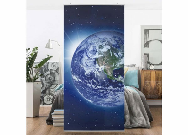 Paneeliverho EARTH IN SPACE 250x120 cm ED-141246