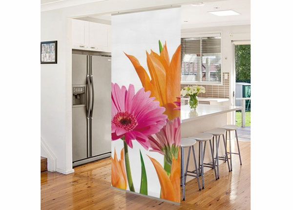 Paneeliverho FLOWER MELODY 250x120 cm ED-141247