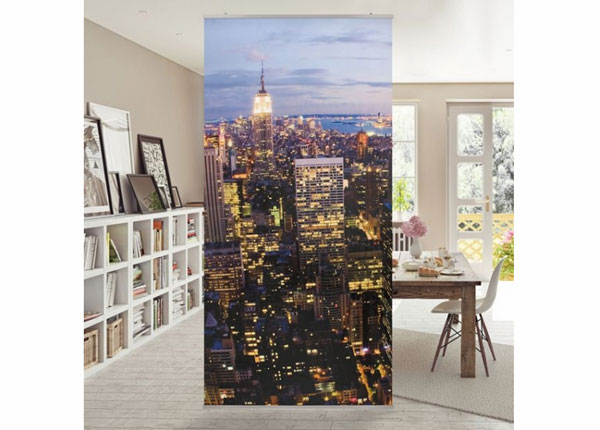 Paneeliverho NEW YORK SKYLINE AT NIGHT ED-141403