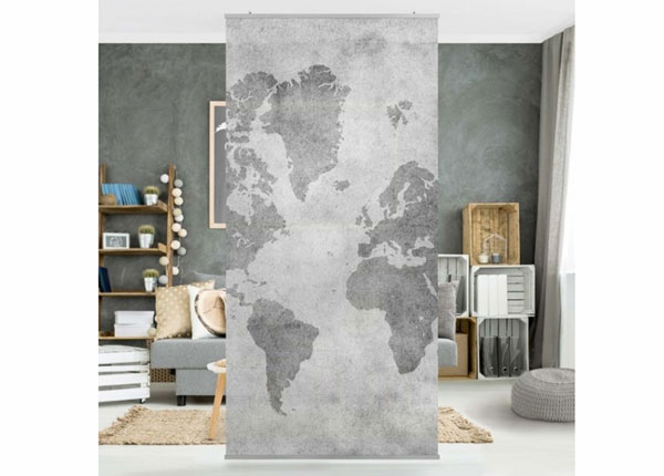 Paneeliverho VINTAGE WORLD MAP II ED-141410