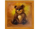 Taulu CHILDREN - BROWN BEAR 16x16 cm
