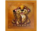 Taulu CHILDREN - TIGER 16x16 cm