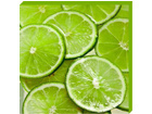 Taulu CANVAS - SLICED LIMES 50x50 cm OG-37745
