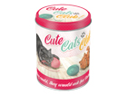 Peltipurkki CUTE CATS CLUB 1 L SG-57021
