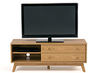TV-taso KENSAL TV UNIT LARGE-OAK WO-73394