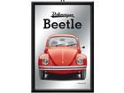 Retrotyylinen mainospeili VW BEETLE PUNAINEN SG-73510