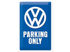 Retrotyylinen metallijuliste VW PARKING ONLY 20x30 cm SG-74271