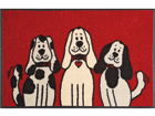 Matto THREE DOGS 50x75 cm A5-74717