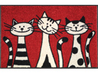 Matto THREE CATS 50x75 cm A5-74719