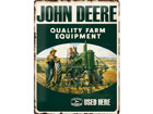 Retrotyylinen metallijuliste JOHN DEERE FARM EQUIPMENT 30x40 cm SG-78432