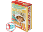 Peltipurkki 3D IF YOU WANT BREAKFAST IN BED 4 L