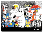 Retrotyylinen metallijuliste MUUMID COMIC 1 30x40 cm SG-81119