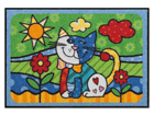 Matto POP ART CAT 50x75 cm A5-84595