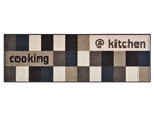 Matto @KITCHEN BROWNISH 60x180 cm