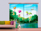 Fotoverho DISNEY FAIRIES WITH RAINBOW 180x160 cm ED-87112