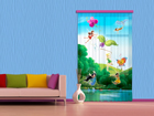 Fotoverho DISNEY FAIRIES WITH RAINBOW 140x245 cm ED-87185