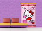 Fotoverho HELLO KITTY HEART 140x245 cm ED-87204