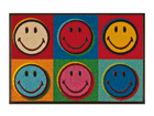 Matto SMILEY WARHOL 50x75 cm A5-87665