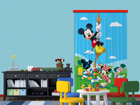 Pimentävä fotoverho DISNEY MICKEY ON A ROPE I 140x245 cm ED-87837