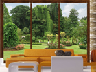Kuvatapetti WINDOWS TO THE GARDEN 360x254 cm ED-88039