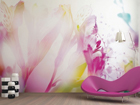 Fleece-kuvatapetti LIGHT FLOWERS 360x270 cm ED-90670
