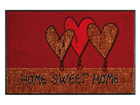 Matto HOME HEARTS 50x75 cm A5-91505
