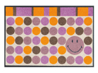 Matto SMILEY DOTS 50x75 cm A5-91527