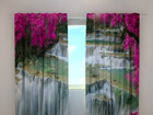 Pimennysverho FLOWERS AT THE WATERFALL 240x220 cm ED-97948