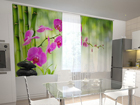 Pimennysverho CRIMSON ORCHIDS IN THE KITCHEN 200x120 cm ED-98440