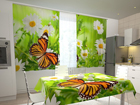 Pimennysverho BUTTERFLY AND CAMOMILES 200x120 cm ED-98511