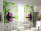 Pimennysverho ORCHIDS AND SUN IN THE KITCHEN 200x120 cm ED-98545