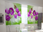 Läpinäkyvä verho LILAC TULIPS IN THE KITCHEN 200x120 cm ED-98575