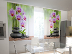 Pimennysverho ORCHIDS AND STONES IN THE KITCHEN 200x120 cm ED-98598