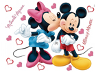Seinätarra DISNEY MINNIE AND MICKEY'S 42,5x65 cm ED-98677