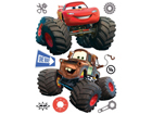 Seinätarra DISNEY CAR WITH BIG WHEELS 65x85 cm ED-98758