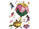 Seinätarra DISNEY FAIRIES IN A BALLOON 65x85 cm ED-98832