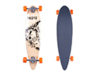 "Longboard lauta SKULLY WORKER 36"" TC-98988"