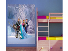 Fleece kuvatapetti DISNEY ICE KINGDOM 180x202 cm ED-99092