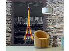 Fleece kuvatapetti EIFFEL TOWER AT NIGHT 180x202 cm ED-99126