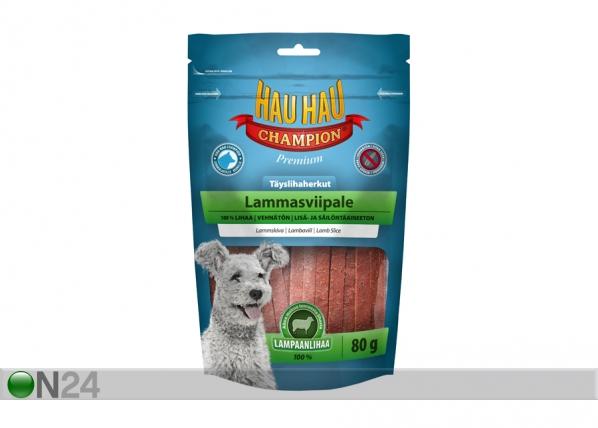 HAU-HAU CHAMPION DELIKATESS lammasviipale 100%, 2x80 g