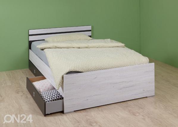 Sänky CARIBA 90×200 cm