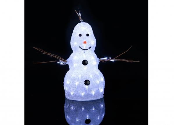 Akryylihahmo SNOWMAN 38 cm