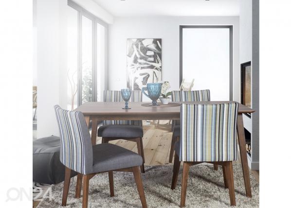 Ruokapöytä LOTO 150×90 cm