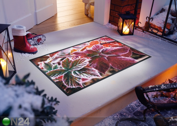 Matto FROZEN LEAVES 75x120 cm A5-101714
